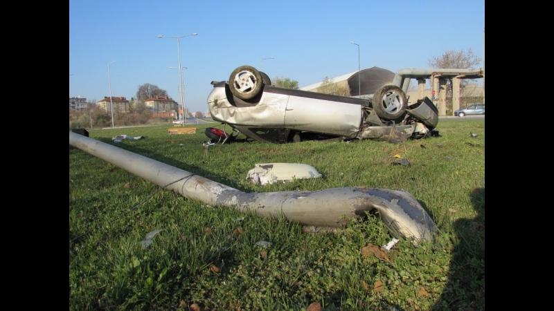 Трима души пострадаха при катастрофа в района на село Плазище,