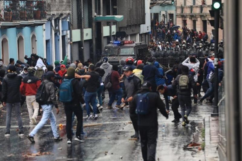 Президентът на Еквадор Ленин Морено обяви извънредно положение в цялата
