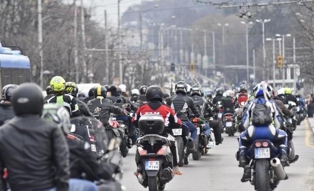 В събота вечер предстои едно от най-мащабните шествия на мотористи