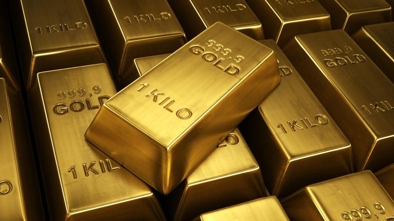 Стойността на златото спада в понеделник сутринта след засилването на