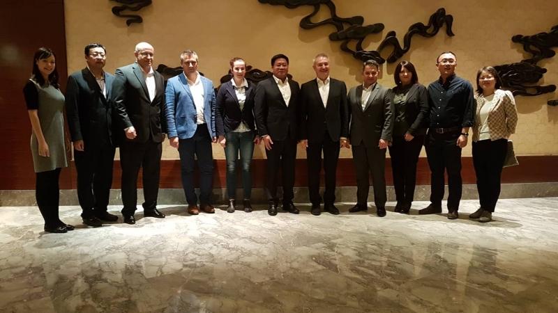 До края на годината делегации от Монтана и китайския град