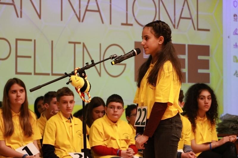 Националният финал на състезанието за правопис на английски език Spelling