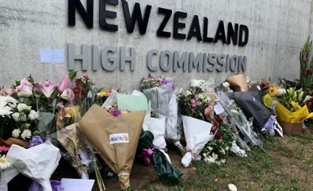 Хиляди хора се стекоха днес в новозеландския град Крайстчърч на