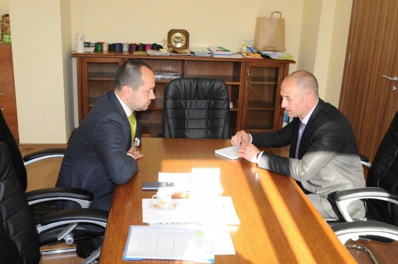 Новоназначеният директор на областната структура на МВР във Враца старши