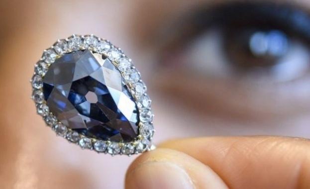 Диамант от корона на кралица Мария-Антоанета продаден за 6.7 млн. долара