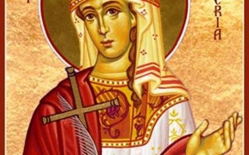 На 13 май Православната ни църква почита Св. мъченица Гликерия