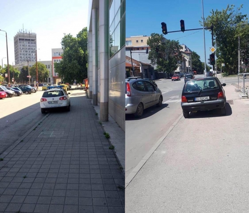 Видинчани скочиха срещу румънци, паркирали неправилно в града им, научи