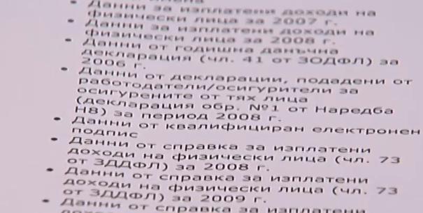 Данните, които са изтекли при хакерската атака на НАП, не