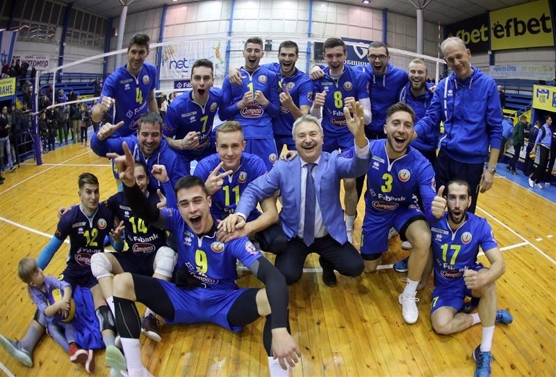"""Отборът на """"Монтана"""" стана вицешампион на България по волейбол-мъже. Воденият"""