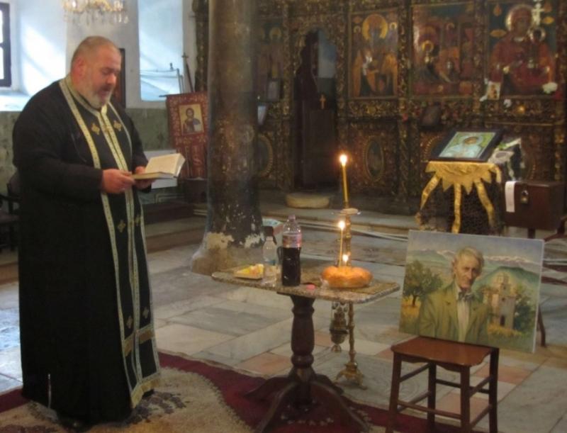 Снимка: Отслужиха панахида в памет на Йордан Радичков в Берковица
