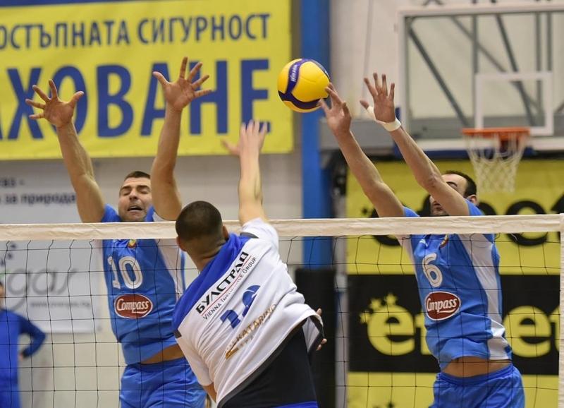 В отложена среща от VIIкръг на волейболната Суперлига отборът на