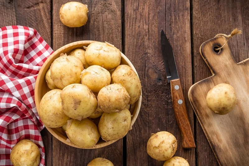 Картофите съдържат полезен за мускулите протеин