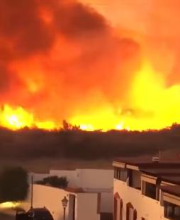 40 жилищни сгради бяха превантивно евакуирани в испанския курорт Марбела