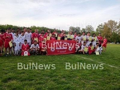 """12 отбора в спор за купата на """"Червена чета - Радецки"""""""
