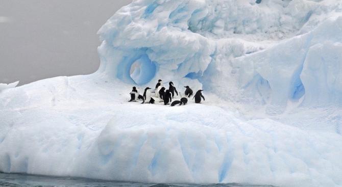 Голям колкото Франция ледник в Антарктида е на път да