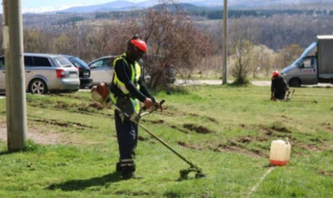 Започна усилено косене на тревните площи във Видин. Дейностите стартираха
