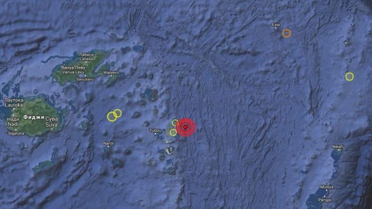 Земетресение с магнитуд от 5.7 по скалата на Рихтер беше