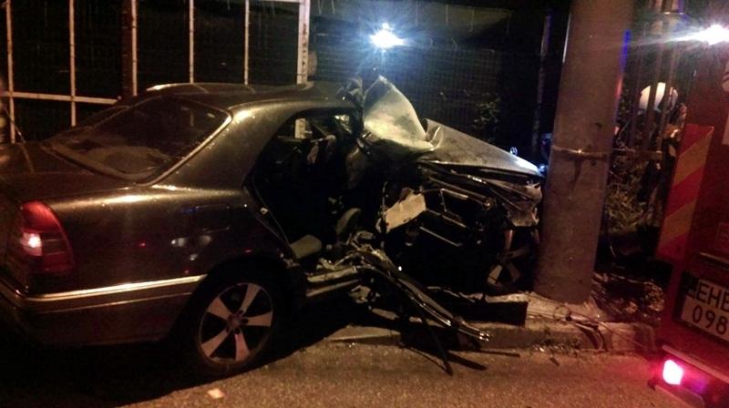 Пиян шофьор катастрофира тази нощ в Мездра, съобщиха от пресцентъра