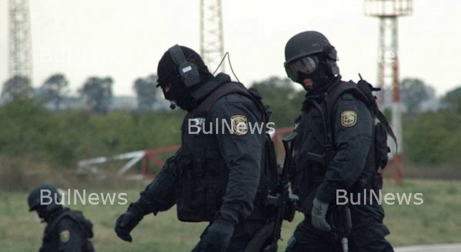 Барети атакуваха центъра на Кюстендил