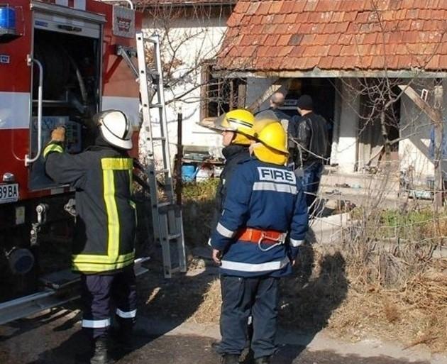 Жена е пострадала тежко при взрив на газова бутилка в