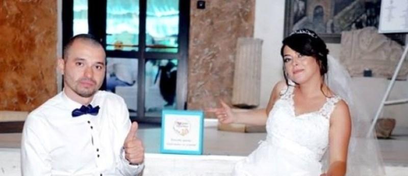 Дарителска инициатива подкрепи на сватбеното си тържество младо семейство от