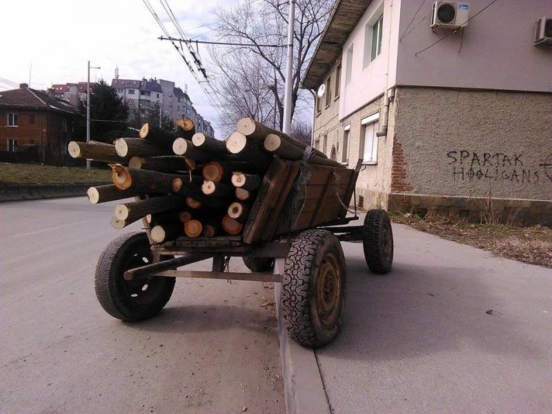 Класически уестърн се е разиграл вчера в село Крива Бара,