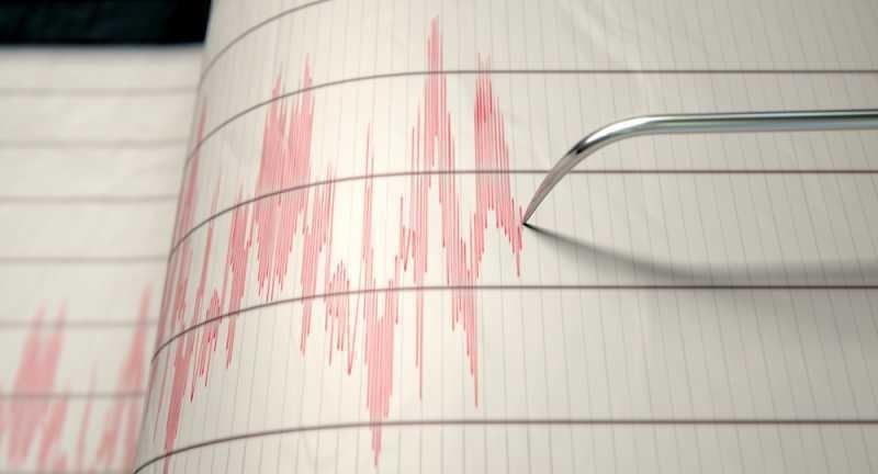Земетресение с магнитуд 4.9 по Рихтер бе регистрирано днес край