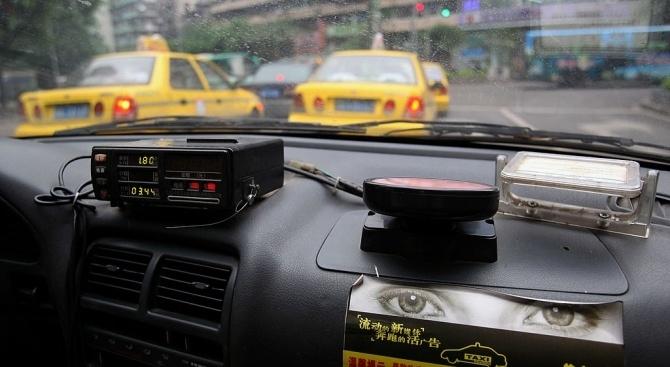 Снимка: Мъж прегази приятелката си, а полицията го спипа с помощта на таксиметрова фирма
