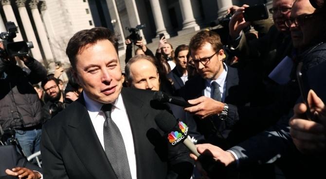 Милиардерът и предприемач Илон Мъск призова да взривим Марс с