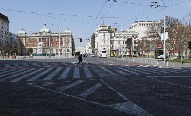 Сръбските власти обявиха извънредно положение в столицата Белград и върнаха