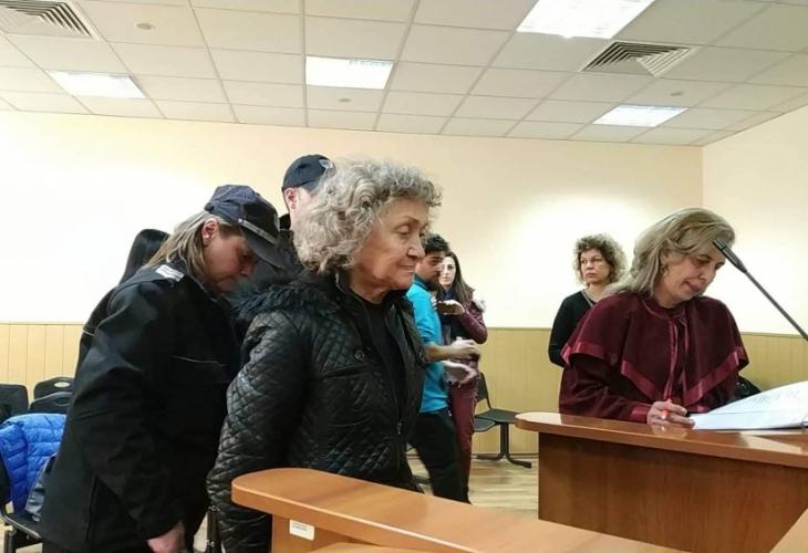 Веска Хаджиева от пловдивското село Труд бе докарана с белезници