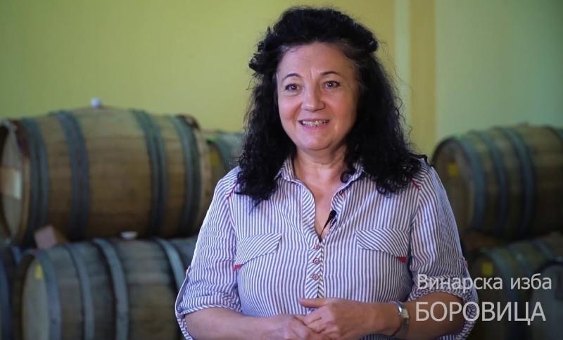 "Адриана Сребринова - собственик и енолог на винарска изба ""Боровица"""