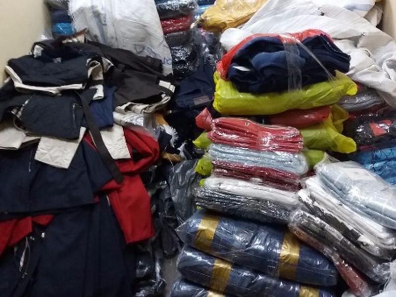 Шофьор на товарен автомобил, откраднал якета за около 10 000