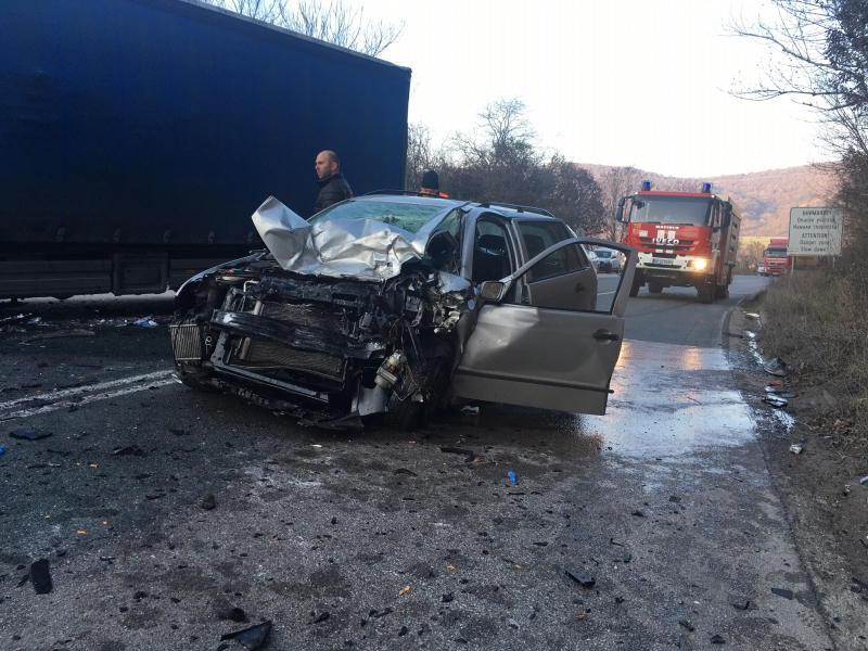 Извънредно! Има и втора жертва на тежката катастрофа на Е-79 край Ребърково
