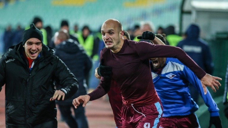 Снимка: Мирослав Будинов вече е футболист на Ботев/Враца/
