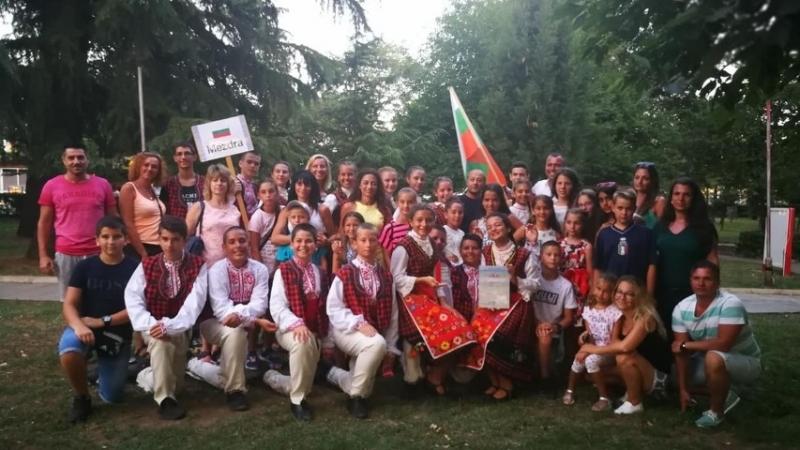 """Детски танцов състав """"Мездренче"""" с художествен ръководител Йоанна Аспарухова се"""