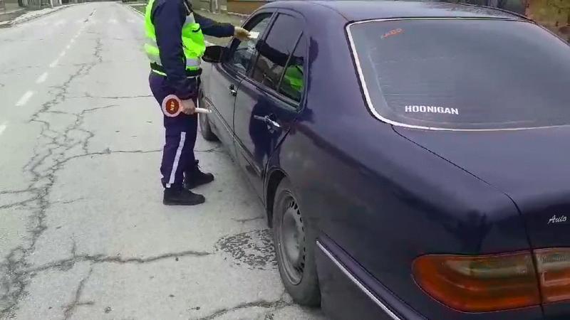 Униформени заловиха мъж от Варненско с кола без номера в