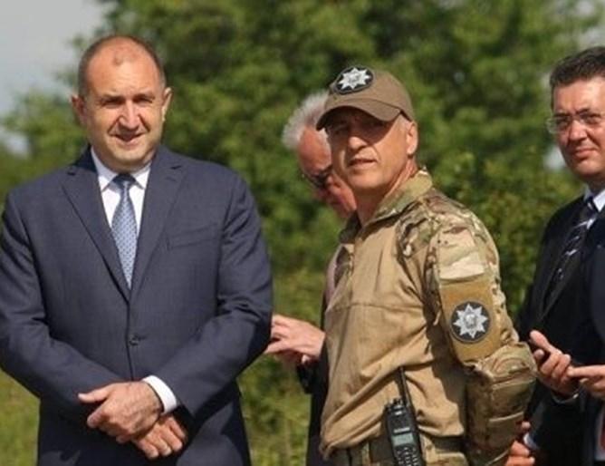 Президентът Румен Радев назначи нов шеф на НСО