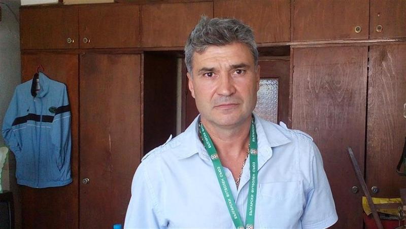 Председателят на Областния съвет на БФС във Видин Иво Марков