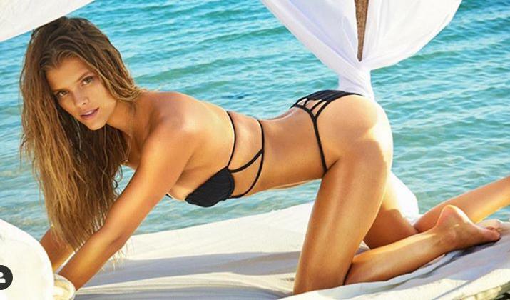 Първи голи кадри на топ манекенката Нина Агдал, вижте ги /снимки/