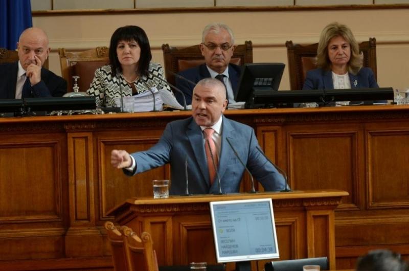 """Лидерът на """"Воля"""" и заместник-председател на парламента Веселин Марешки се"""
