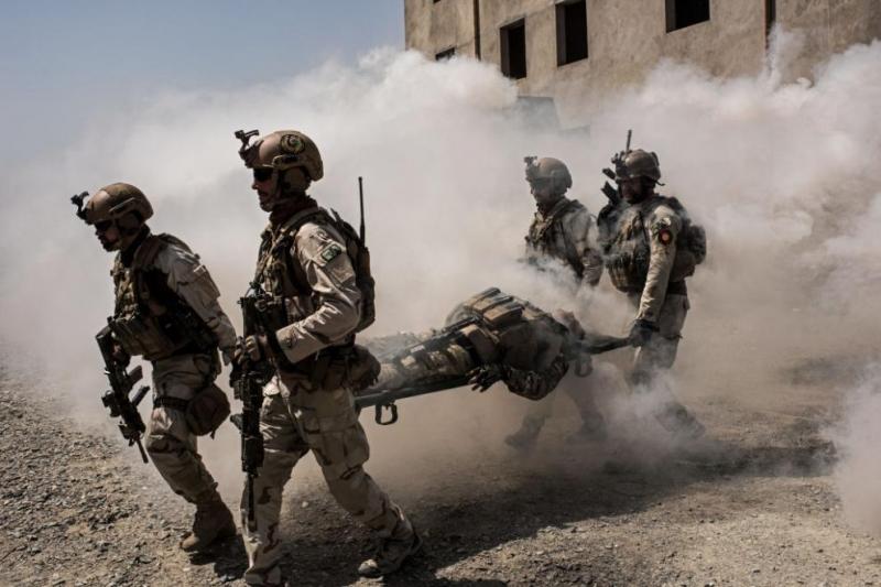 Престрелка се водеше днес между афганистанските сили за сигурност и