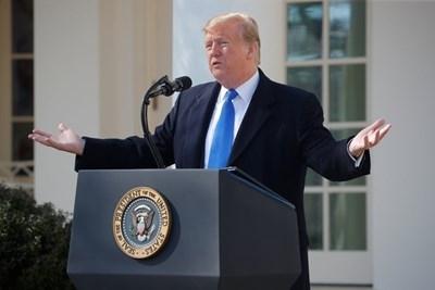 Американският президент Доналд Тръмп похвали Китай за налагането на смъртно