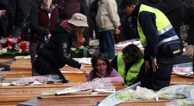 В Италия за днес е обявен ден на траур в