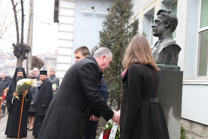 Видин почете 145 години от гибелта на Васил Левски. Церемонията