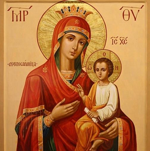 Украинската чудотворната икона на Света Богородица-Скоропослушница пристига за първи път