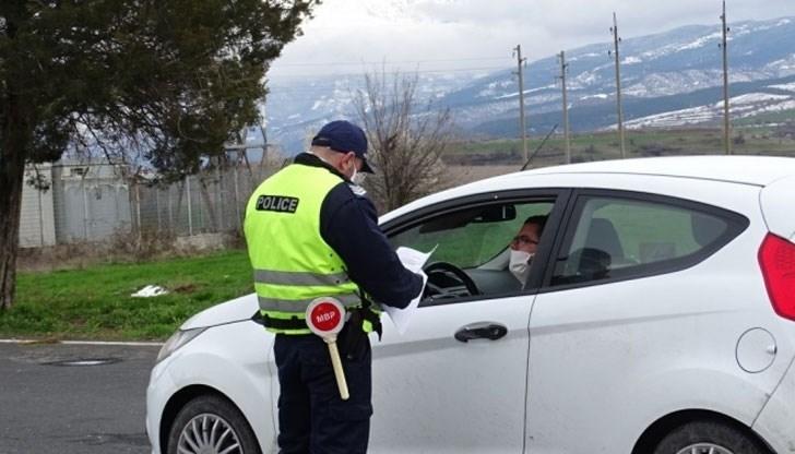 Полицаи са хванали шофьор с отнета книжка, подкарал колата си