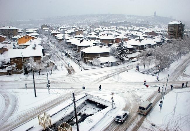 Снимка: Снегът и студът държат грипа далеч от Монтана