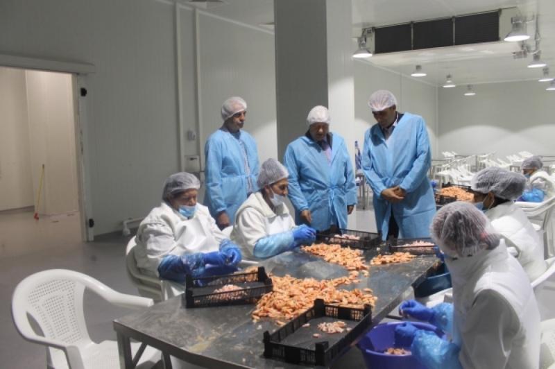 Инспекцията по труда проверява условията за работа в завод за