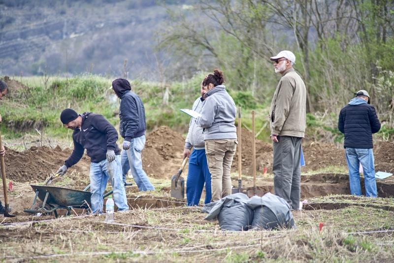 В началото на месец април започнаха спасителни археологически проучвания на